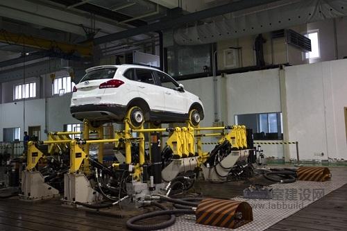 汽车行业实验室建设